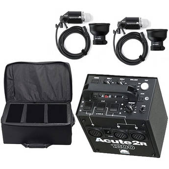 Profoto Acute 2R 1200W/s 2 Head Pro Pack with Case